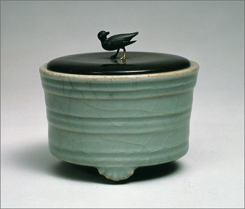 incense burner - chidori, collection: tokugawa art museum