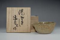 Yuzamashi - poem pottery cup by Otagaki Rengetsu #2489