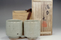 sale: Murata Gen 'Yunomi' mashiko pottery tea cup