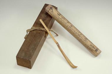 sale: Antique 'chashaku' bamboo tea scoop