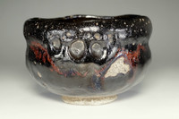 sale: 2nd Nakamura Donen 'kuro raku chawan' tea bowl