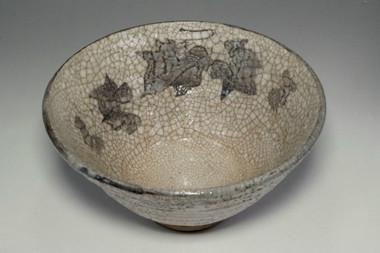 sale: Kato Shunka antique shino bowl