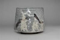 sale: 'Nezumi shino chawan' glazed tea bowl #3106