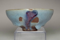 sale: Antique Jun glazed pottery bowl