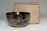 sale: Antique (Edo era) tea bowl by Okada Kyuta (Aoki Mokubei's wheel master)