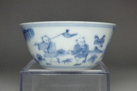 sale:  Antique Chinese blue and white cup Chenghua porcelain mark