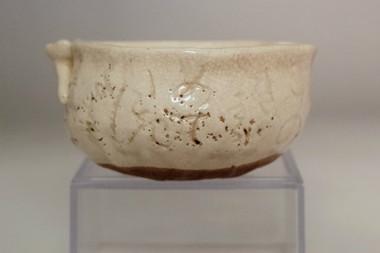 sale: Otagaki Rengetsu(1791-1875) poem carved pottery Yuzamashi cup