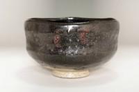 sale: Ogawa Choraku (1874-1939) 'kuro raku chawan' black tea bowl