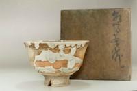Kato Shuntai (1802-1877) Antique tea bowl #3334