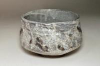 Shino ware tea bowl #3352