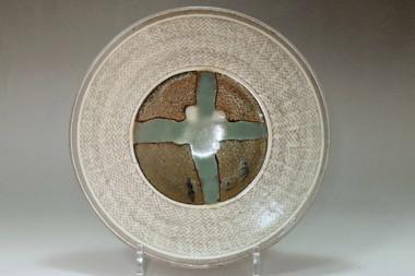 sale: Shimaoka Tatsuzo (1919-2007) '60s vintage mashiko ware plate