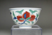 sale: Chenghua marked Chinese doucai porcelain cup #3374