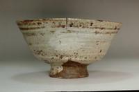 sale: Kato Shuntai (1802-1877) Antique 'hakeme chawan' tea bowl