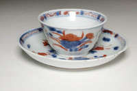 sale: 18c Antique Chinese porcelain cup and saucer