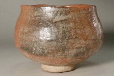 sale: 10th Raku - Tannyu (1795-1854) Aka-Raku tea bowl