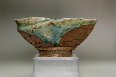 sale:  Antique Japanese pottery tea bowl