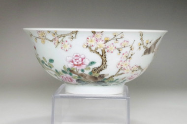 sale: Chinese Famille Rose Porcelain bowl Yongzheng official porcelain mark