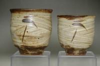 sale: Shimaoka Tatsuzo (1919-2007) Set of 2 mashiko ware cups