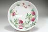 sale: Chinese Yongzheng (1736-1795) Guyue xuan famille rose plate