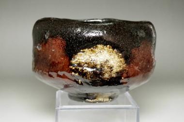 sale: Raku 11th Keinyu (1817-1902) Kuro raku tea bowl