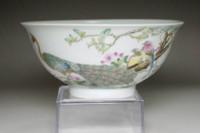 Chinese Yongzheng (1723-1735) Guyue xuan famille rose bowl #3588