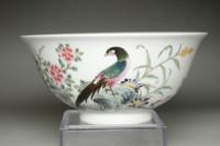 Chinese Yongzheng (1723-1735) Guyue xuan famille rose bowl #3589