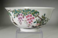 Chinese Yongzheng (1723-1735) Guyuexuan famille rose bowl #3593