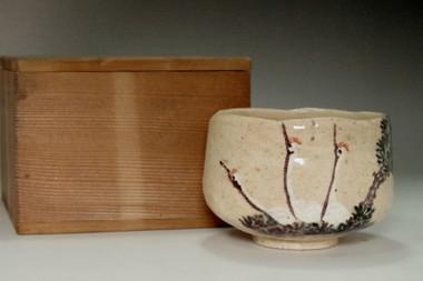 sale: Oki Toyosuke (1813-1858) Japanese tea bowl