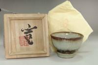 sale: Kawai Kanjiro (1890-1966) Ice Crackle Glaze cup