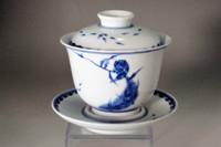 Jiangxi Porcelain Company (1907-12) Chinese porcelain tea cup #3630
