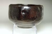 sale:  Antique Japanese raku matcha tea bowl