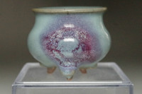 sale:  Chinese pottery small pot in Jun ware