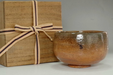 sale: 9th Raku Ryonyu (1756-1834) Antique aka-raku tea bowl