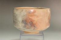 sale: Ogawa Choraku (1874-1939) Aka-raku tea bowl #3761