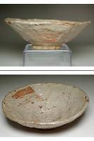 Kato Shuntai (1802-1877) Japanese tea bowl in Ofukai ware #3769