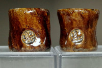 sale: 10th Raku - Tannyu (1795-1854) Raku pottery lid rest