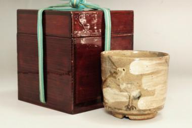 Kato Shuntai (1802-1877) Antique tea bowl #3797