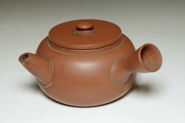 sale: Yamada Jozan II (1897-1961) Vintage Japanese tea pot in Tokoname ware