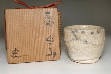 sale: Suzuki Goro (1941- ) Pottery cup in Shino ware