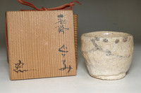 sale: Suzuki Goro (1941- ) Pottery cup in Shino ware