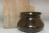 sale: 8th Nakagawa Joeki (1830-1877 The Ten Craftsmen of Senke) Antique copper slop basin
