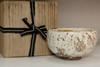 sale: Kato Bakutai (1861-1943) Antique tea bowl in shino ware
