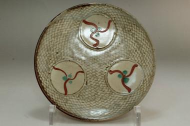 sale: Shimaoka Tatsuzo (1919-2007) Vintage pottery plate in mashiko ware