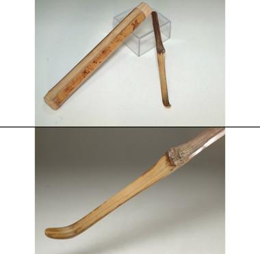 sale: Antique bamboo tea scoop