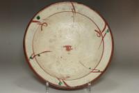 sale: Vintage Mingei pottery plate in mashiko ware