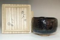 sale: 6th Raku Sanyu (1685-1739) Antique koro-raku tea bowl