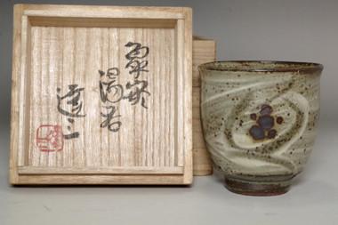 sale: Shimaoka Tatsuzo (1919-2007) Vintage mashiko ware tea cup