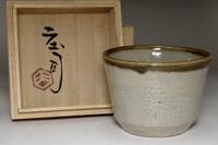 sale: Hamada Shoji (1894-1978) Vintage mashiko ware cup