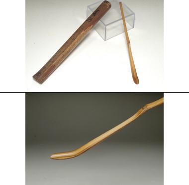 "sale: Chashaku ""Harukoma"" - Antique Japanese bamboo tea scoop"