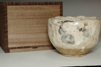 sale:  Antique shino ware tea bowl